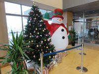 サーモンパーク千歳のクリスマスツリー