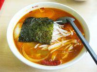 華門でスープカレーラーメンを昼食に食べました。