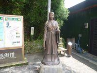 天照大御神様の銅像&29番、鈿銅像