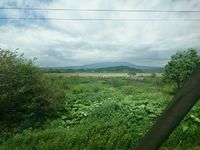 普通のカメラと山カメラで樽前山を撮影。