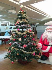 相馬写真館のクリスマスツリー