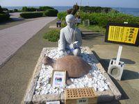 浦島太郎の銅像