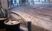 初雪は本格的に。