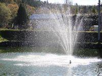 三階の滝公園の噴水