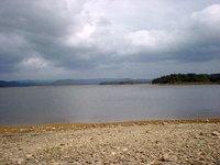 朱鞠内湖の風景