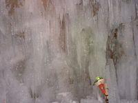 支笏湖氷濤の日中の光景