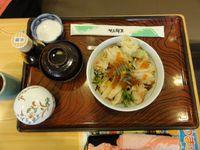恵庭市のとんでんで昼食を食べました。