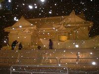 雪祭りの雪像7