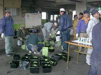 帯広競馬場ペンキ塗り(いただきもの)