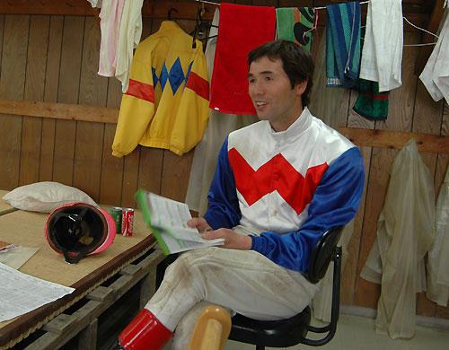 西騎手のインタビュー