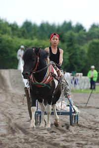 瓜幕競ばん馬競技大会(3)