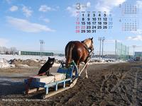 2010年3月カレンダー2