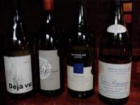 赤ワインの飲み比べ