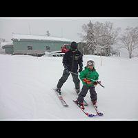 あんまり寒いからスキーに行ってきた!
