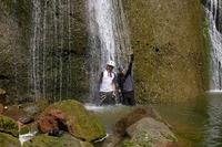 社台の滝で滝修行!