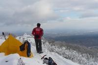 風不死岳(1102.5m)初冬