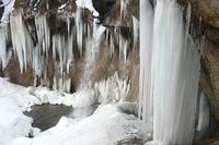 冬の七条大滝