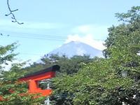 やっとお目見え…富士山♪