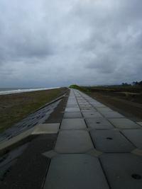 仙台七北田川から亘理鳥の海へ雨☔️