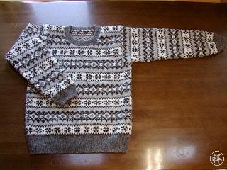 KEIくんのセーター(その2)