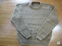 サフォークのセーター