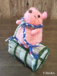 羊毛で干支のネズミ人形作り体験教室開催します