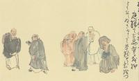 奥の細道、いなかの小道(39)− 全昌寺、汐越の松