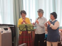 Ensembleエリカ:沼風苑でMusic-present:初体験3点