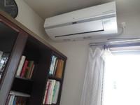 私の部屋にもエアコン