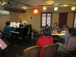2018.Ensembleエリカ新年会はMusic-Cafe-Line