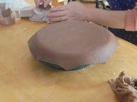 大皿の製作