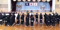 平成27年上ノ国町消防団の出初式