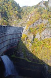 豊平峡ダムへ紅葉狩り