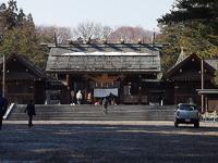 北海道神宮参拝