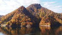 定山渓紅葉