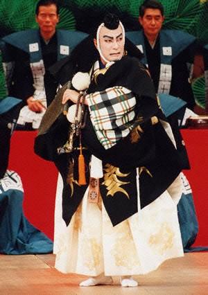 舞台上の松本幸四郎