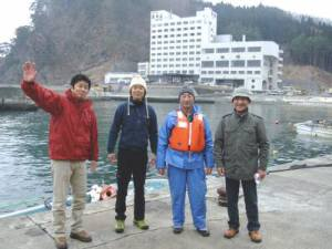 田野畑村 海のアルプス、漁船で堪能