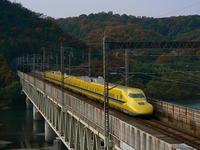 高梁川橋梁の新幹線(その3)