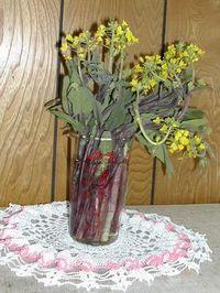 菜の花と桜が食卓に・・・