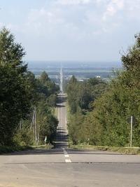 知床横断道路と野付半島