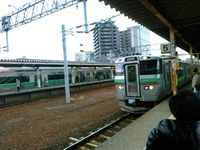 現苗穂駅最後の日