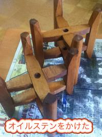 古い糸巻きをなんとかしてみる。オイル塗ってみたよ