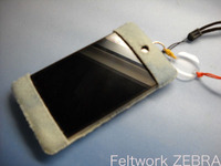 iPod Touch 4G用フェルトケースの型紙配布しますよ