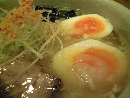 ひるがお (野沢) 鶏ネギの柚ソバ