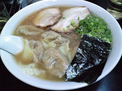 らーめん茂木 (三軒茶屋) 雲呑麺