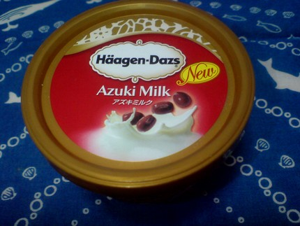 Haagen-Dazs アズキミルク