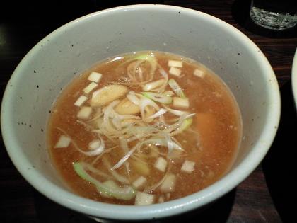 麺屋武蔵 武骨外伝 (渋谷) 味玉冷やしみぞれつけ麺