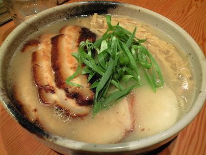 臥龍 (三軒茶屋) 冷やし軍鶏白湯麺