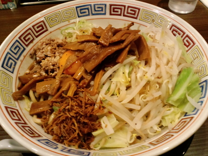 麺屋  (駒沢大学) 武士系豚骨らーめん