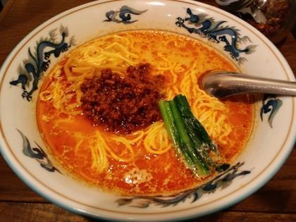 松波ラーメン店 (松陰神社前) 坦々麺